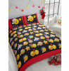 Emoji Icons Christmas Double Duvet Cover Bedding Set