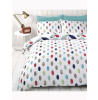 Lulu Floral Single Reversible Duvet Cover and Pillowcase Set