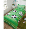 Goal Football Single Duvet Cover and Pillowcase Set