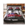 Santiago Classic Car Single Duvet Cover and Pillowcase Set