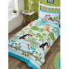 Bundle Rainforest 4 in 1 Junior Bedding (Piumone, cuscino e coperte)