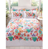 Tropical King Size Duvet Cover and Pillowcase Set