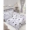 Scandi Bear Double Duvet Cover Bedding Set