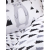 Scandi Bear Double Duvet Cover Set with Two Pillowcases