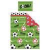 Football Red Junior Duvet Cover Bedding Set