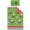 Football Red Single Duvet Cover Bedding Set
