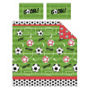 Football Red Double Duvet Cover Bedding Set