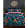Jungle Expedition Single Duvet Cover Set - Navy
