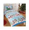 Fun in the Snow Single Christmas Duvet Cover Set