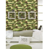 Camouflage Bedroom Wallpaper 10m Rasch 260914