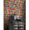 Brick Graffiti Wallpaper - Rasch 291407