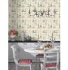 Kitchen Utensils Vinyl Wallpaper Rasch 307108 Feature Wall