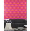 Hot Pink Pineapple Wallpaper - Hot Pink Rasch 862126