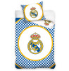 Real Madrid CF Checked Single Cotton Duvet Cover Set