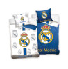 Real Madrid CF Set copripiumino singolo reversibile blu e bianco