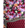 Muriva Rose Floral Wallpaper - Red and Pink - J97010