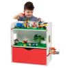Room 2 Build Bookshelf Storage Unit with Building Plates