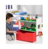 Unidad de almacenamiento de estantería de cabecera para niños Room 2 Build