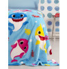Coperta in pile Baby Shark