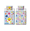 Baby Shark Fishes Junior Duvet Cover and Pillowcase Set