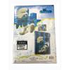Smurfs Blue Single Duvet Cover Bedding Set