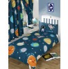 Solar System Planets & Space Single Duvet Cover Set