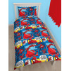 Spiderman Webhead Single Rotary Duvet Cover Bed Set
