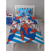 Marvel Spiderman Popart Single Duvet Cover and Pillowcase Set