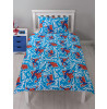 Spiderman Popart Single Rotary Duvet Cover and Pillowcase Set