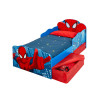 Spiderman Toddler Bed with Underbed Storage and Light Up Eyes plus Fully Sprung Mattress