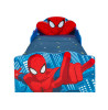 Spiderman Toddler Bed with Underbed Storage and Light Up Eyes plus Deluxe Foam Mattress
