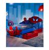 Spiderman Light Up Eyes Junior Bed with Storage plus Foam Mattress