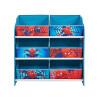 Spiderman Bedroom Furniture Storage Set Storage Unit