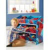Spiderman Bedroom Furniture Storage Set 6 Bin Storage
