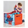 Cassa di giocattoli del giocattolo di stoccaggio della camera da letto dello Spiderman