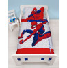 Spiderman Metropolis Junior Toddler Duvet Cover Set