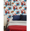 Spiderman Pow Wallpaper Graham & Brown White / Multi 108553