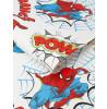 Graham & Brown Spiderman Pow Wallpaper White / Multi 108553
