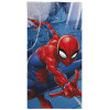 Spiderman City Beach Towel