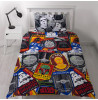 Star Wars Classic Patch Single Duvet Cover and Pillowcase Set