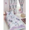 Stardust Unicorn Lined Curtains - Purple and Teal Bedroom