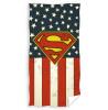 Toalla de playa con logo de Superman