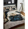 Sweet Pug Single Duvet Cover and Pillowcase Set