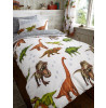 Rawrsome Dinosaur Single Duvet Cover and Pillowcase Set