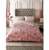 Bellrose Floral King Size Duvet Cover Set - Pink
