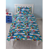 Thomas & Friends Patch Single Rotary Duvet Cover and Pillowcase Set