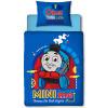Thomas & Friends Juego de cama Minis 4 en 1 Junior para niños pequeños (edredón, almohada y fundas)