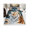 Tiger Double Duvet Cover and Pillowcases Set