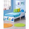 Dinosaurs Toddler Bed Plus Foam Mattress Bedroom