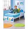 Dinosaurs Toddler Bed Plus Deluxe Foam Mattress Bedroom